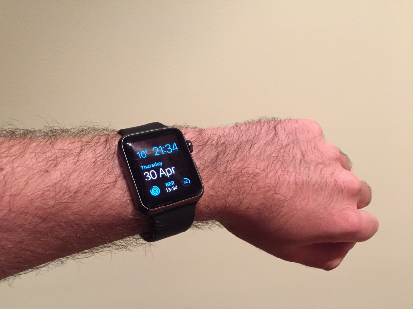 Apple Watch 42mm Sport Black
